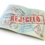 Russian visa rejected