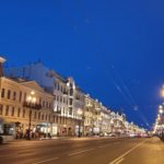 Nevsky Prospect Avenue in St Petersburg